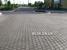 Тротуарная плитка Катушка-тавр